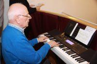 Eynattener Organist Hans Laschet junior