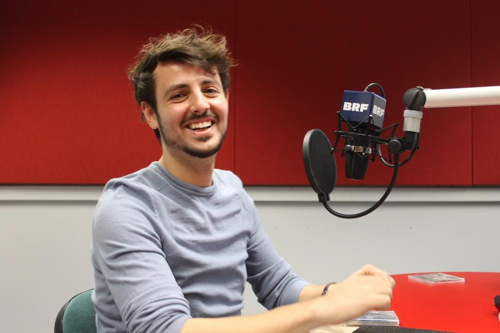 Daniel Caccia stellt sein Album bei BRF2 vor (Bild: BRF)