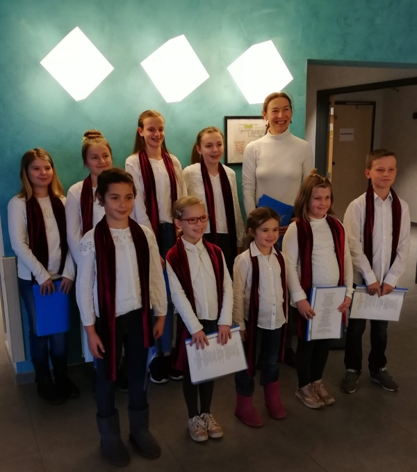 Kinderchor der Gemeinde Kelmis (Foto: privat)